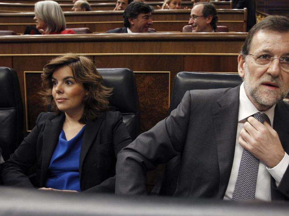 El presidente Rajoy en el Congreso