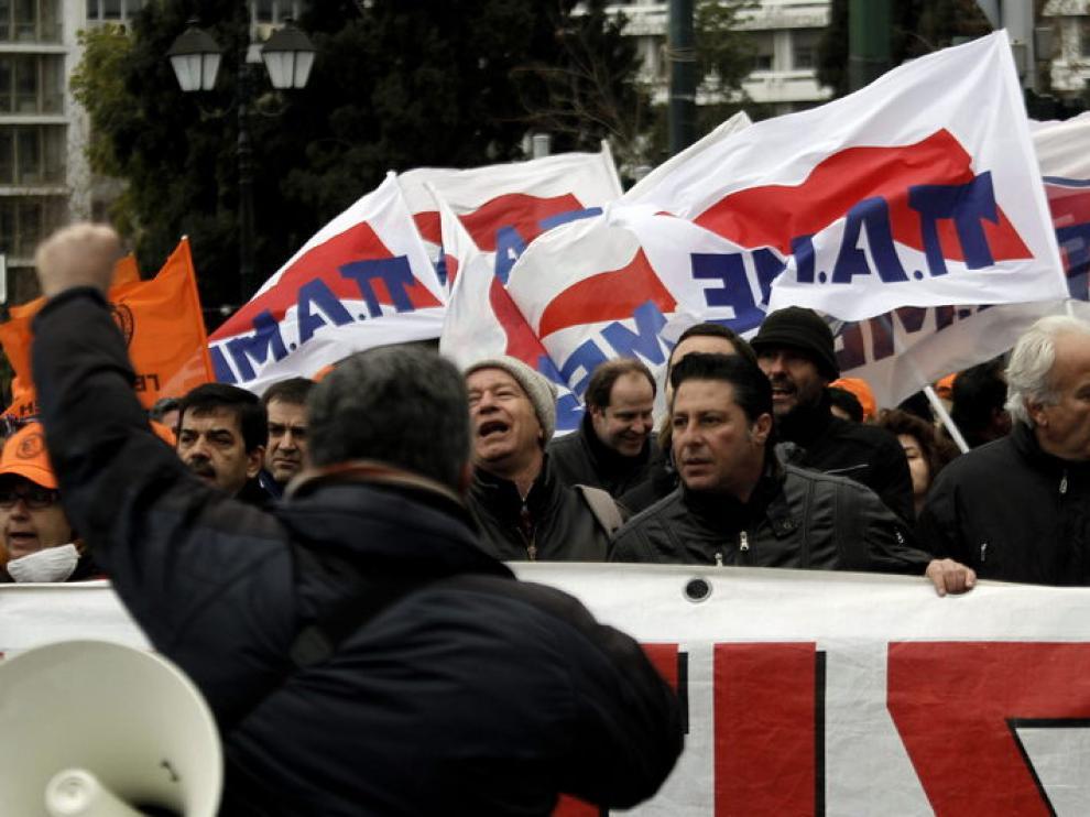 Los sindicatos convocan una huelga general de 48 horas