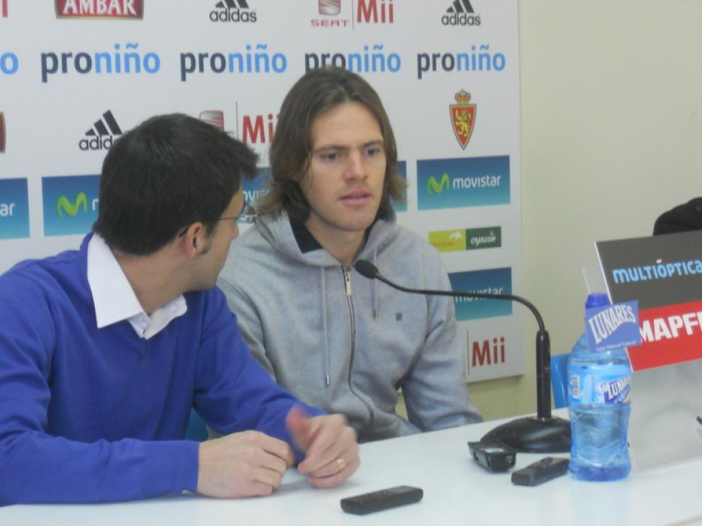 Dujmovi, del Real Zaragoza