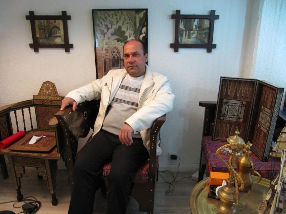Mohammad Beiloune, sirio afincado en Zaragoza