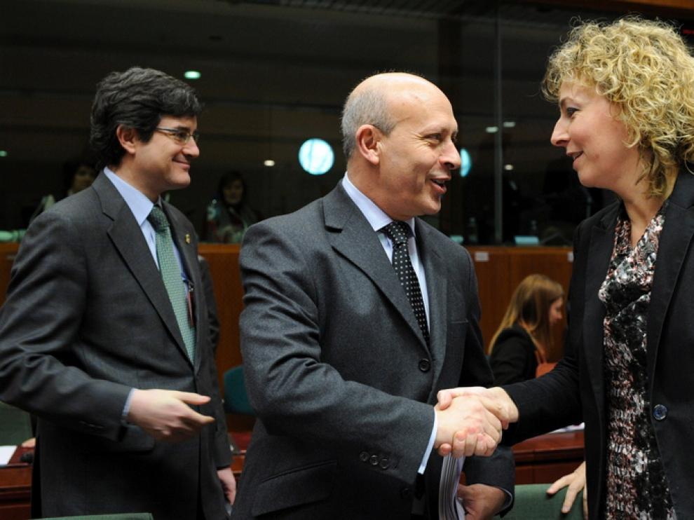 El ministro en Bruselas
