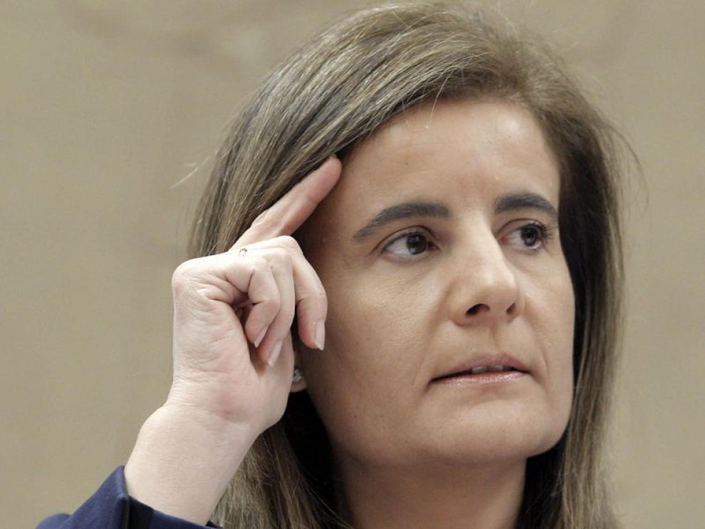 Ministra de Empleo y Seguridad Social, Fátima Báñez