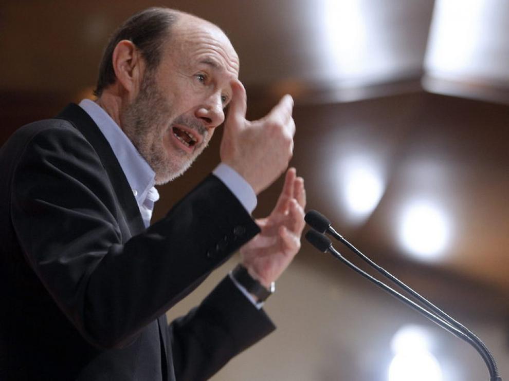 Rubalcaba critica la reforma laboral