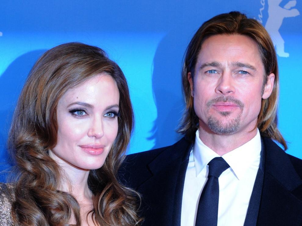Angelina Jolie y Brad Pitt, en la alfombra roja