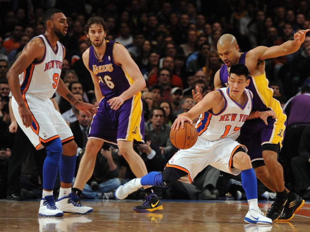 Lin, de los Nicks, el mejor del partido