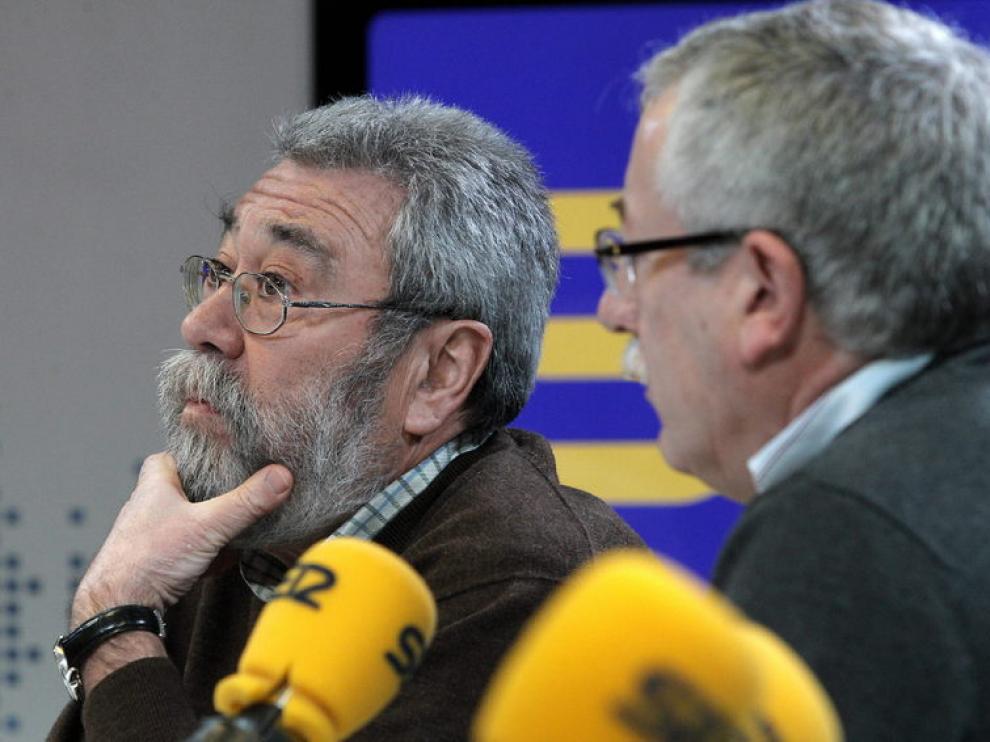 Secretario general de CCOO, Ignacio Fernández Toxo