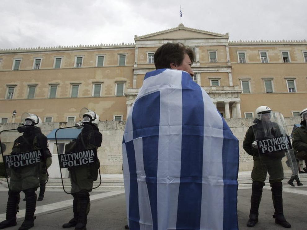 Segundo día de huelga general en Grecia