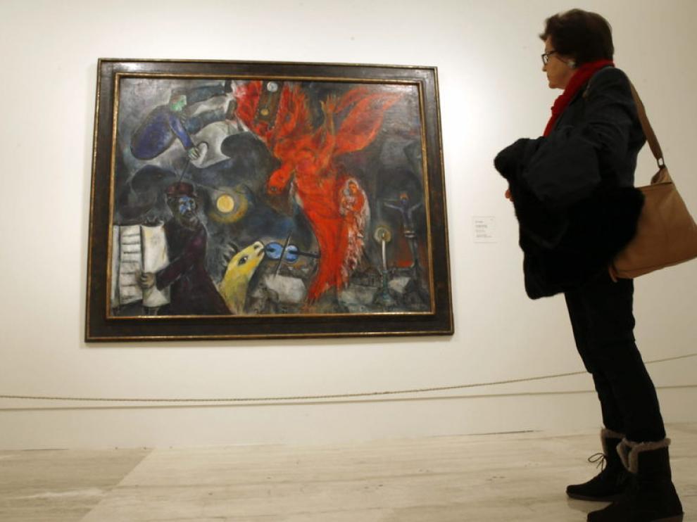 Exposición de Chagall en el Thyssen