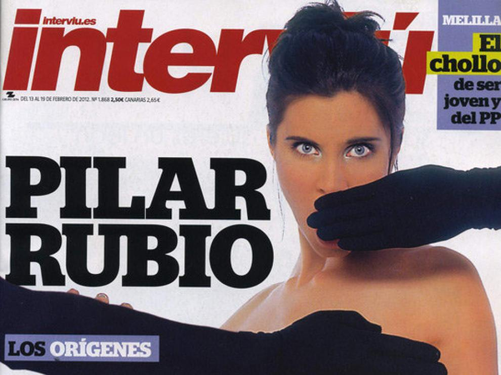 Portada de Pilar Rubio