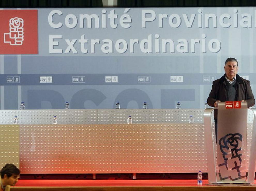 El ex secretario general del PSOE de Sevilla, José Antonio Viera,