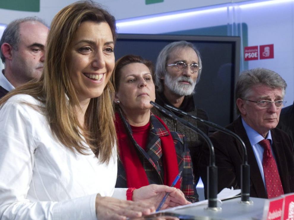 La secretaría de organización del PSOE en Anadalucía, Susana Díaz,