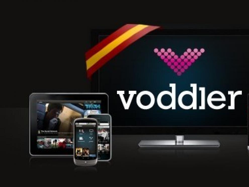 Logo de 'Voddler'