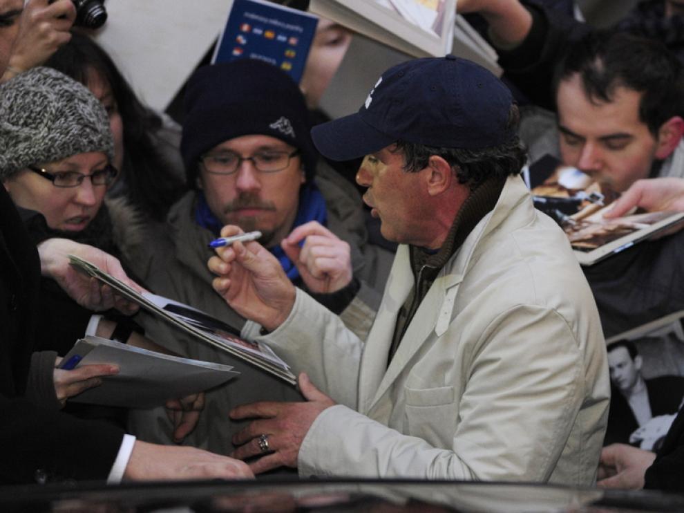 Antonio Banderas, este miércoles en Berlín