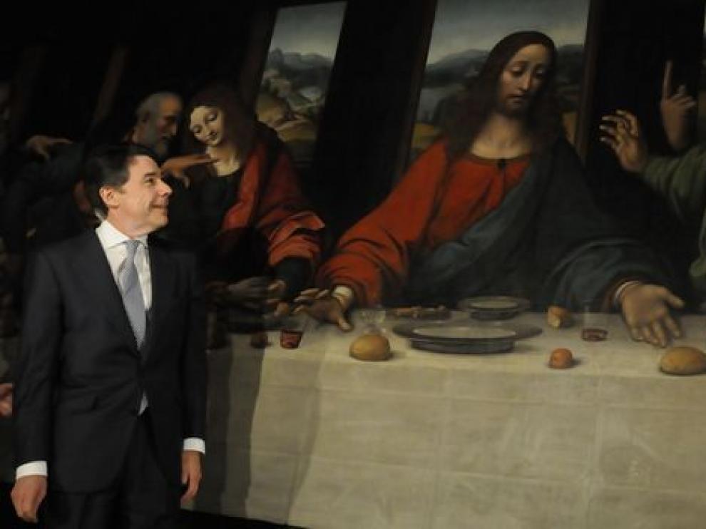 La última cena de Giampietrino en Madrid