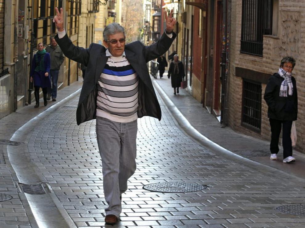 Miguel Montes Neiro, tras su salida de prisión