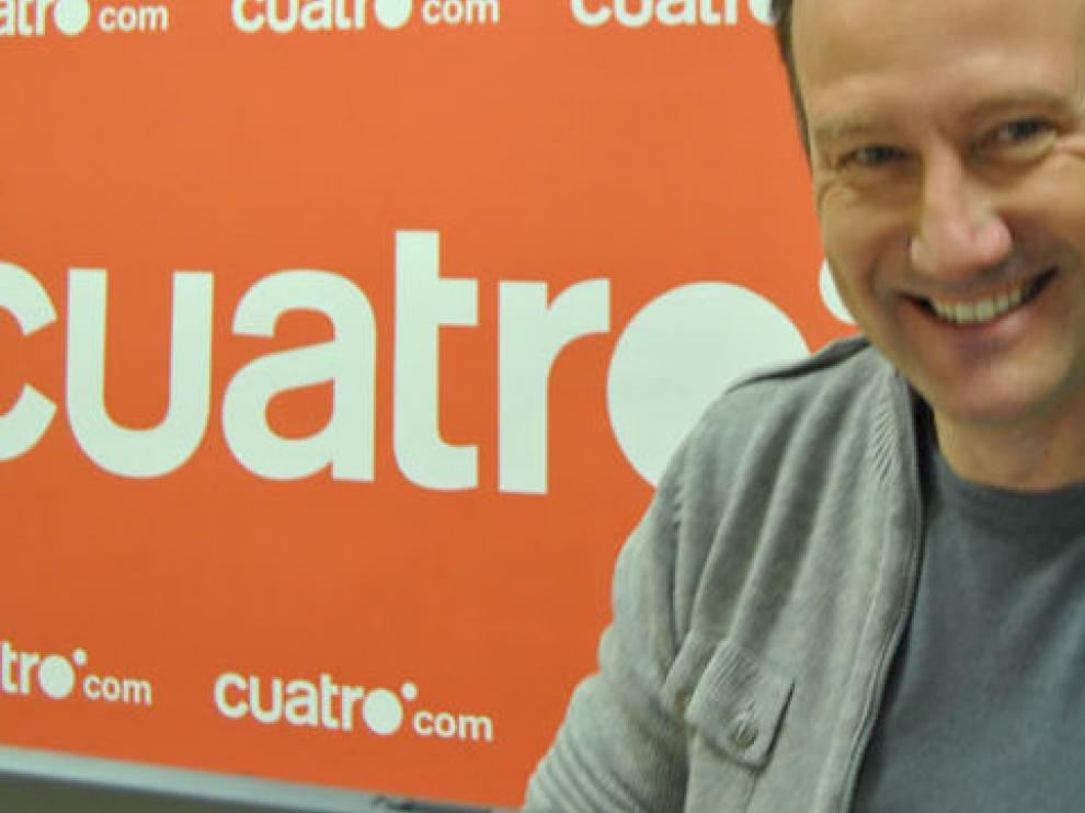 Pedro García Aguado, presentador del programa.