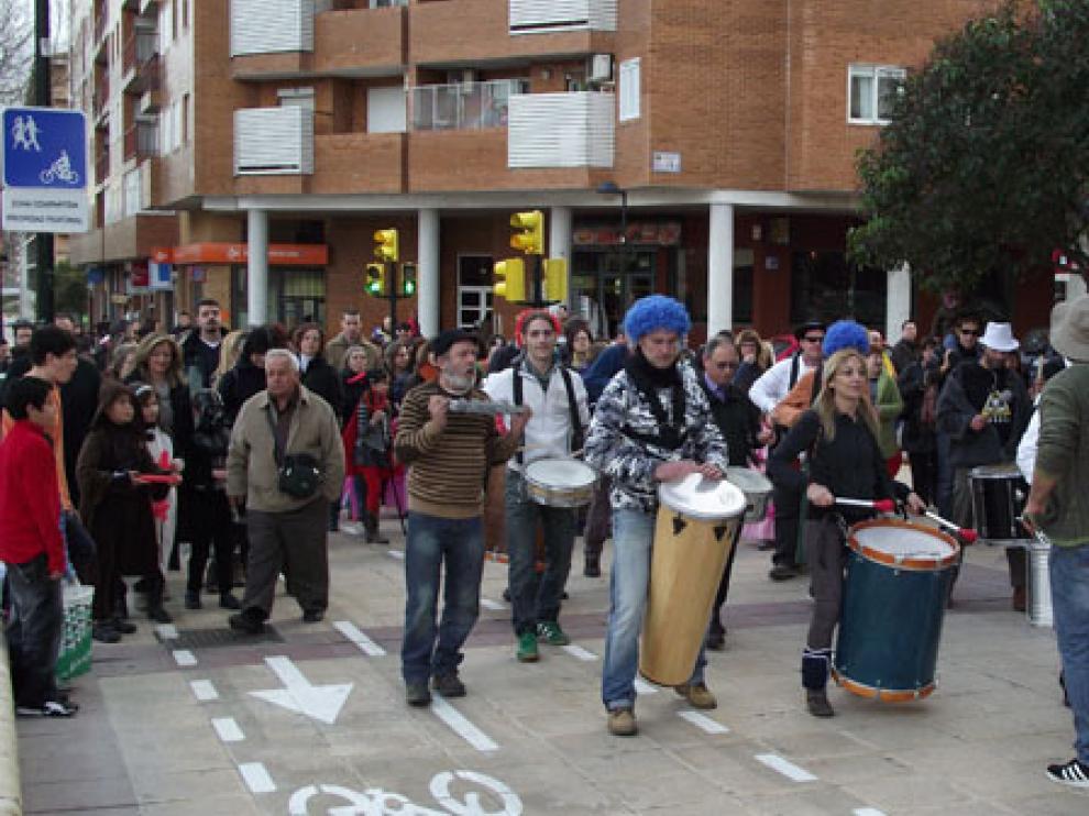 Imagen de archivo de la celebración del carnaval en Parque Goya.