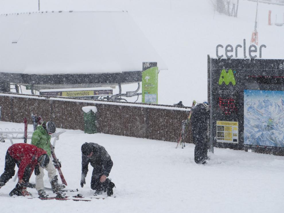 Imagen de archivo de la estación de Cerler