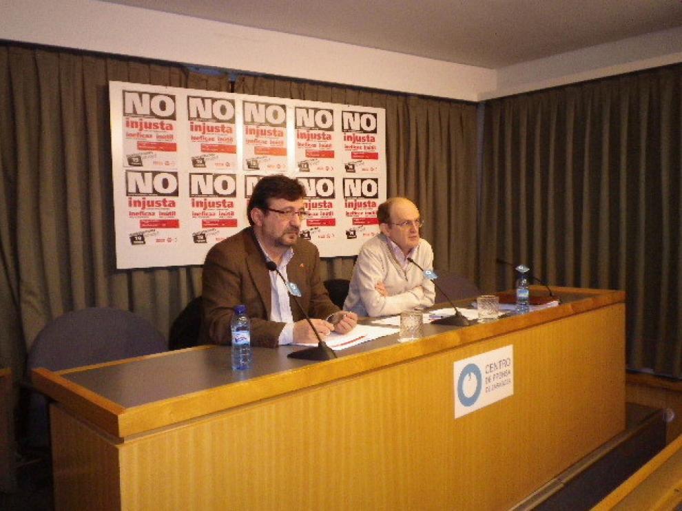 Imagen de los líderes sindicales