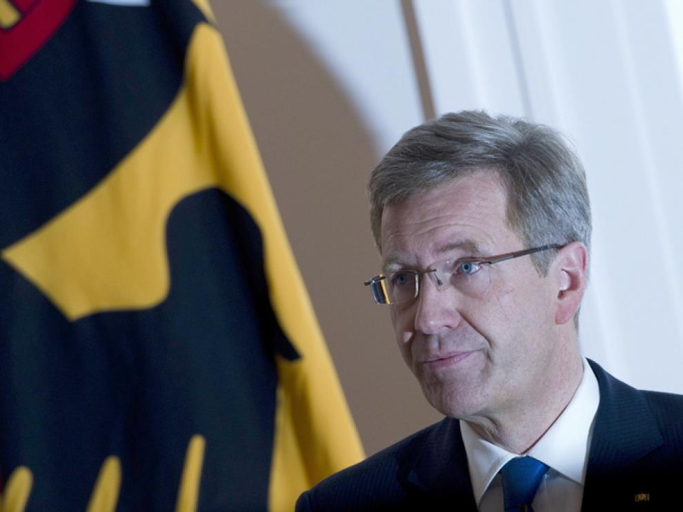 El presidente alemán hablará sobre las acusaciones de corrupción