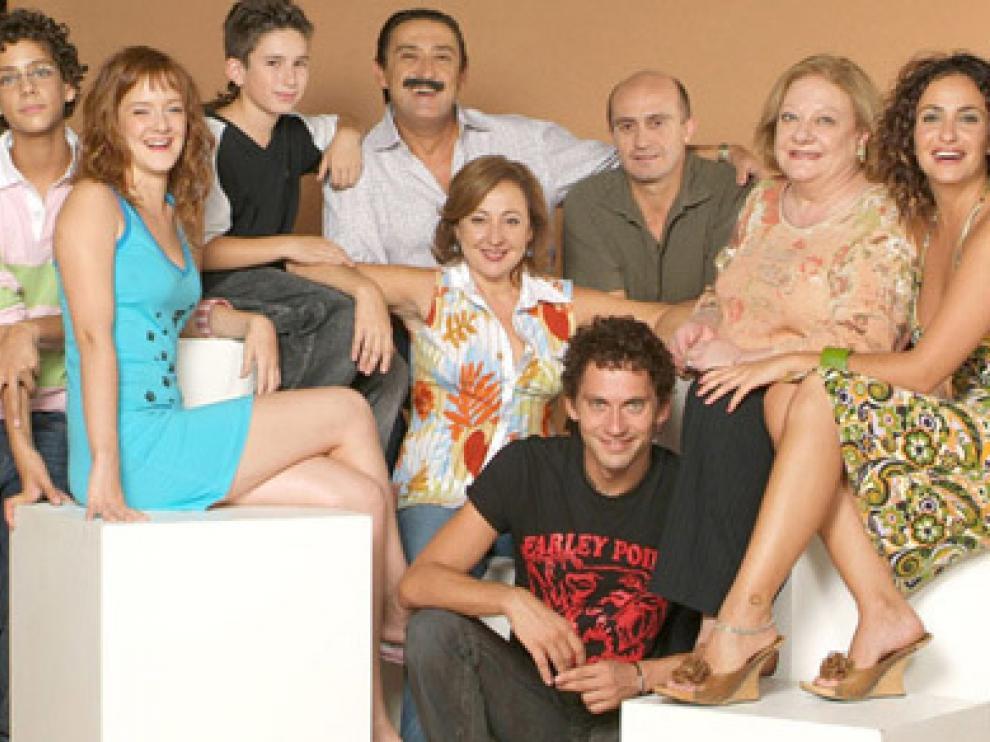 El reparto de la serie que emite Telecinco.