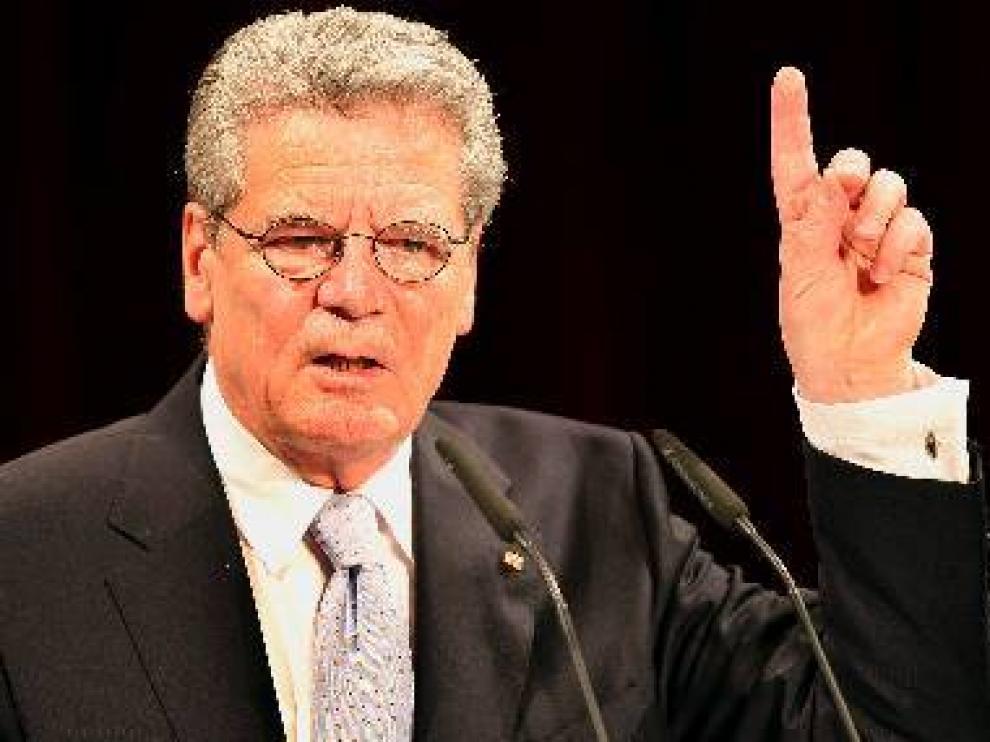 Gauck, en imagen de archivo