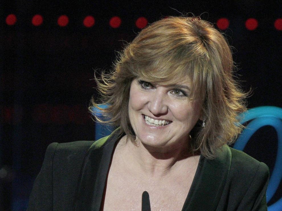 Ana Wagener, actriz de 'La voz dormida', recoge el Goya a la Mejor Actriz de Reparto.