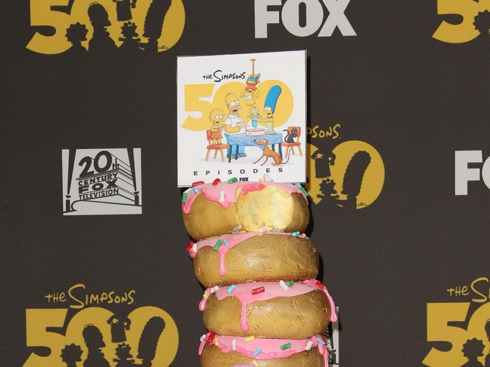 Tarta de rosquillas para celebrar los 500 episodios