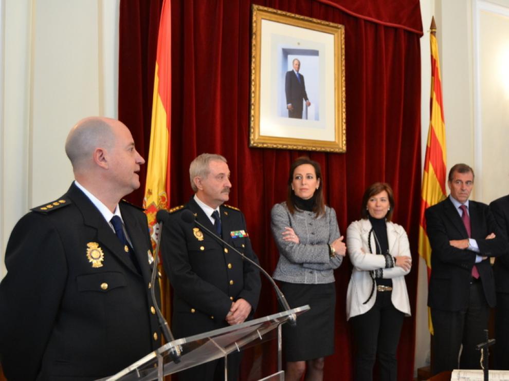 Toma de posesión del nuevo Comisario, acto presidido por la Subdelegada del Gobierno