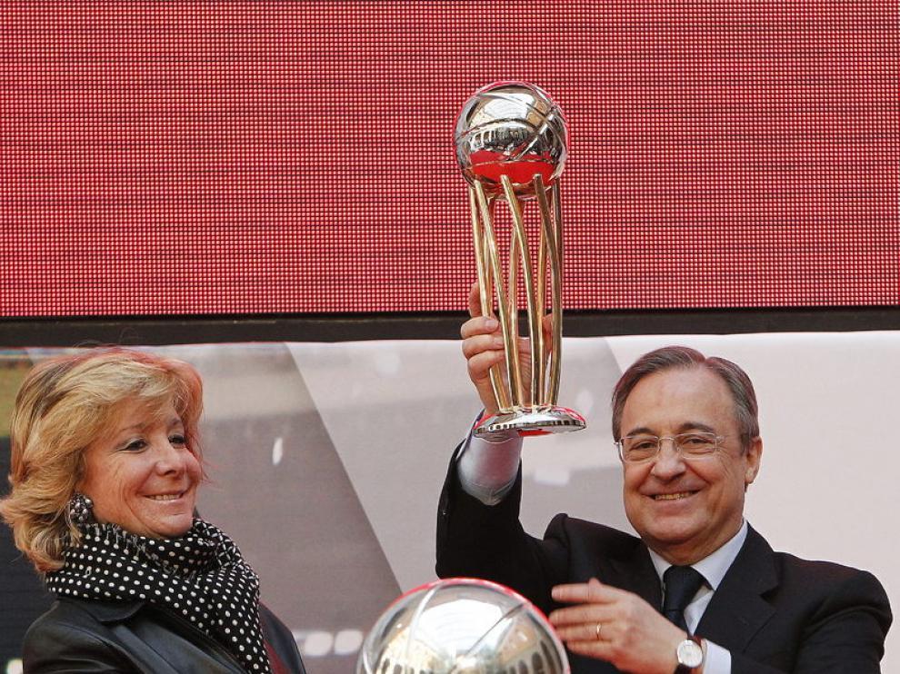 Celebración del título de Copa del Rey de Baloncesto