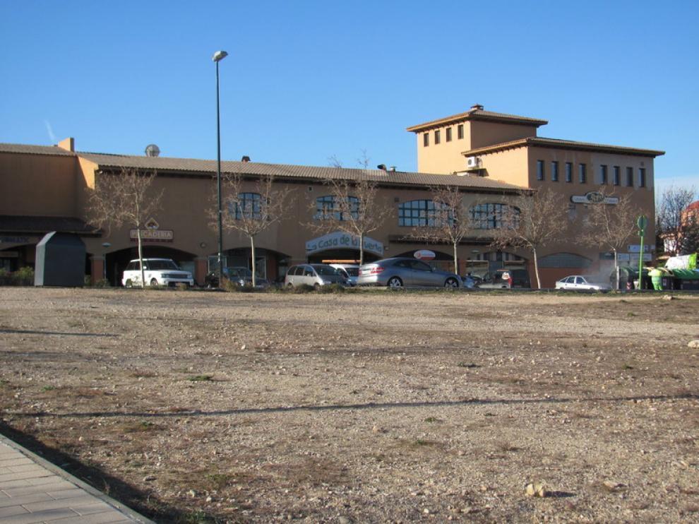Zona comercial de Montecanal