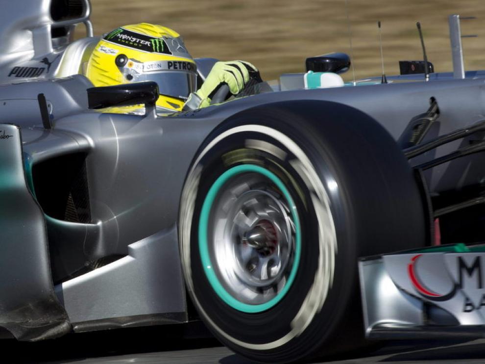 Rosberg, piloto de Mercedes