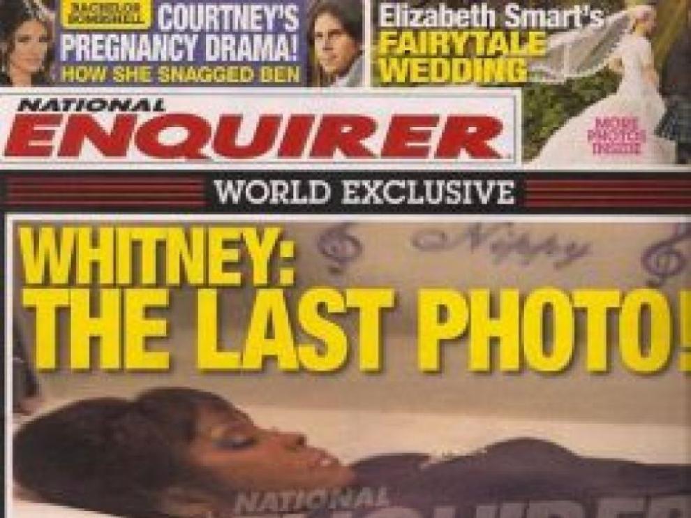 La última foto de Whitney Houston