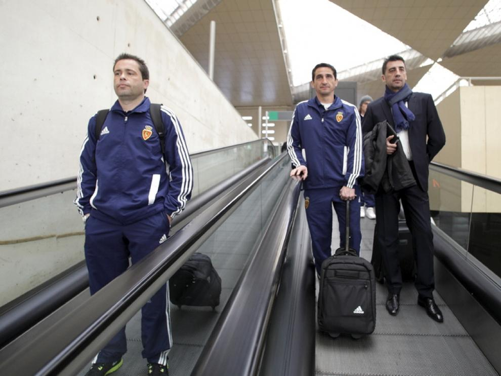 Salida del Zaragoza a Málaga, desde la estación del AVE