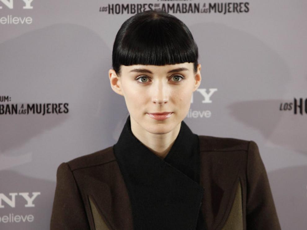 Rooney Mara en la presentación de su película