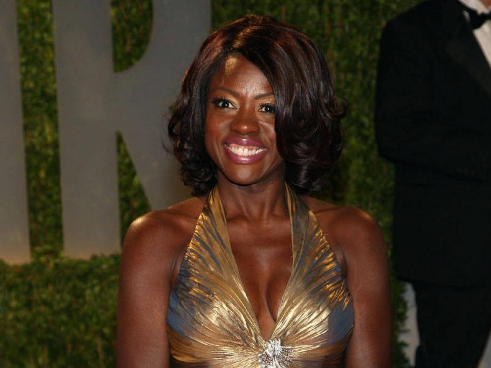 Viola Davis, en la ceremonia de los Oscar 2009