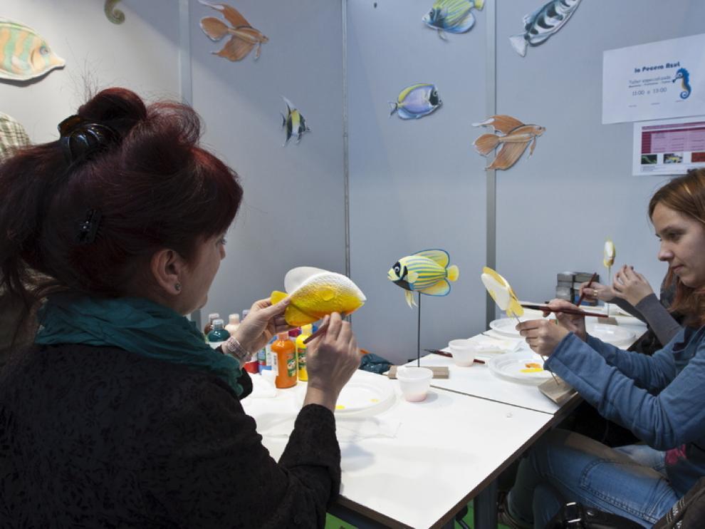 Salón de manualidades 'Creativa' en la Feria de Zaragoza