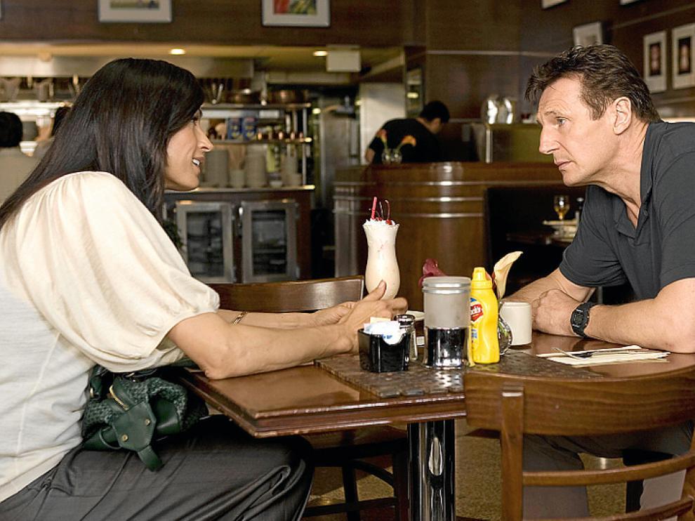 Liam Neeson en un fotograma de la película.