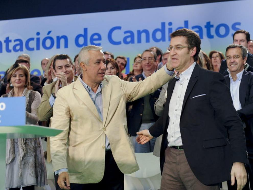 Javier Arenas y Alberto Nuñez-Feijoó