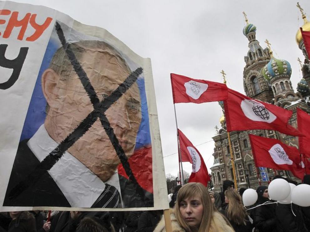 Varios participantes durante la manifestación