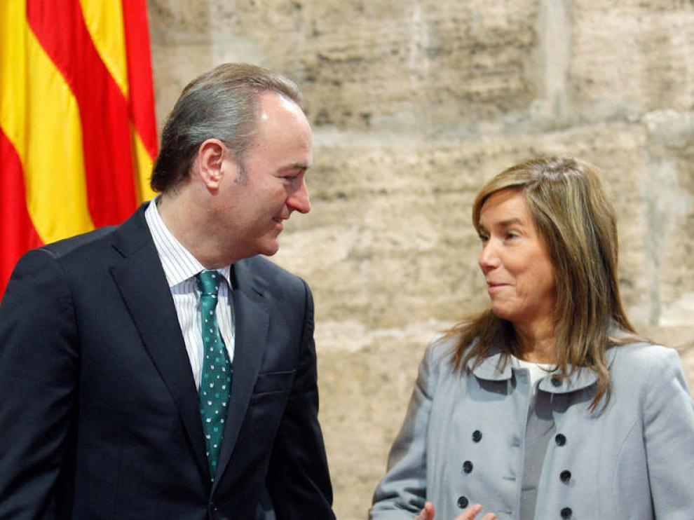 Alberto Fabra y Ana Mato