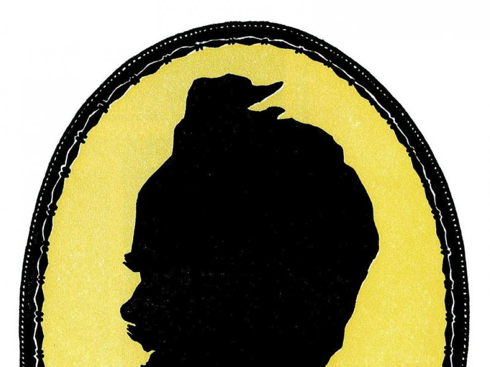 Ilustración del dibujante Thorsten del escritor August Strindberg