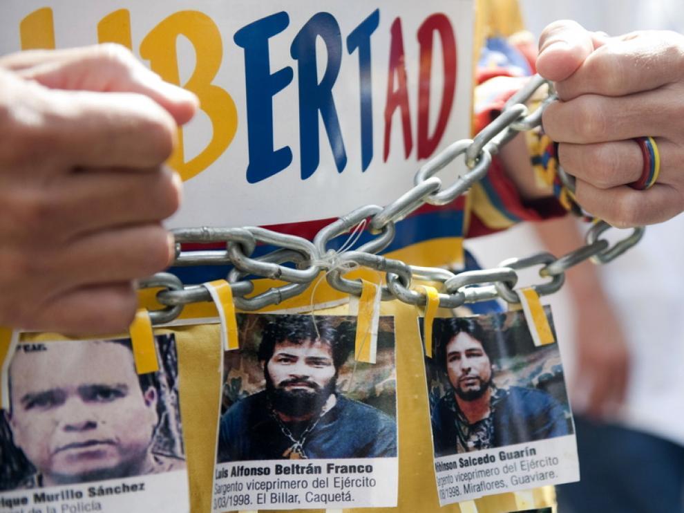 El secuestro ha sido uno de los principales actos de la guerrilla colombiana