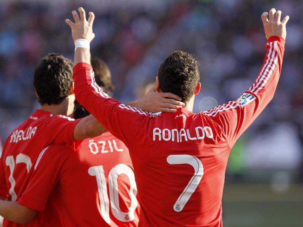 Ronaldo celebra su tanto