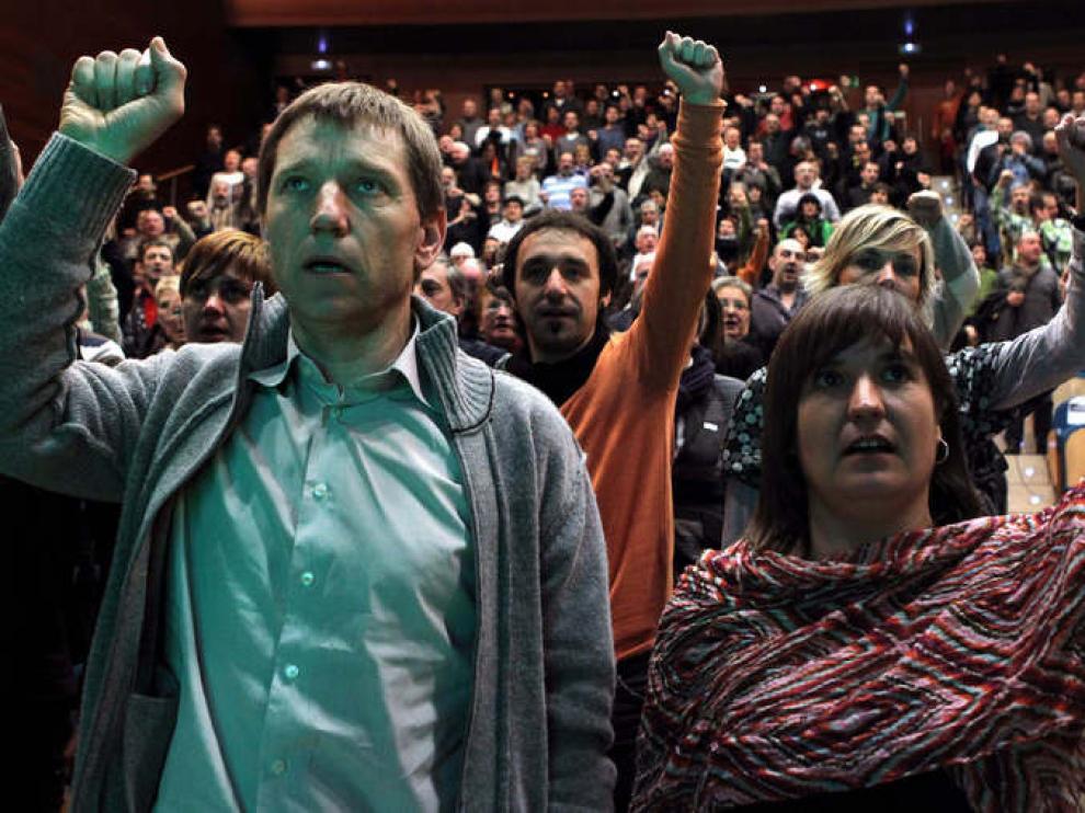 Acto de la izquierda aberzale en San Sebastián
