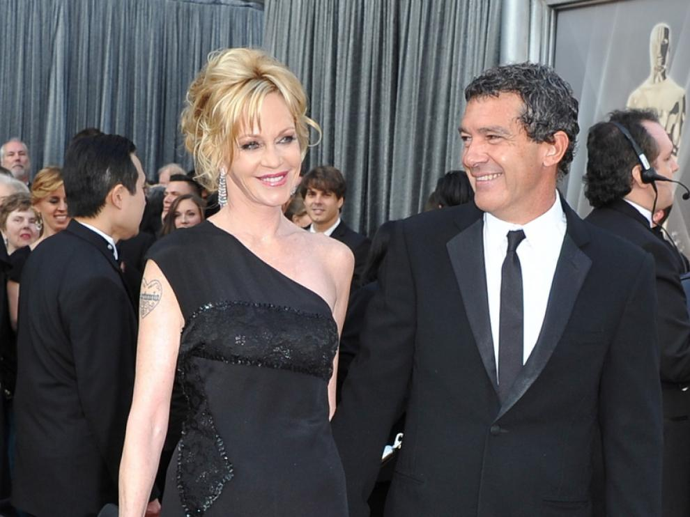 Antonio Banderas y Melanie Griffith