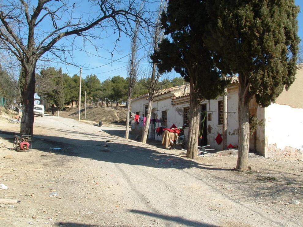 Vistas del poblado del cerro de Las Mártires.