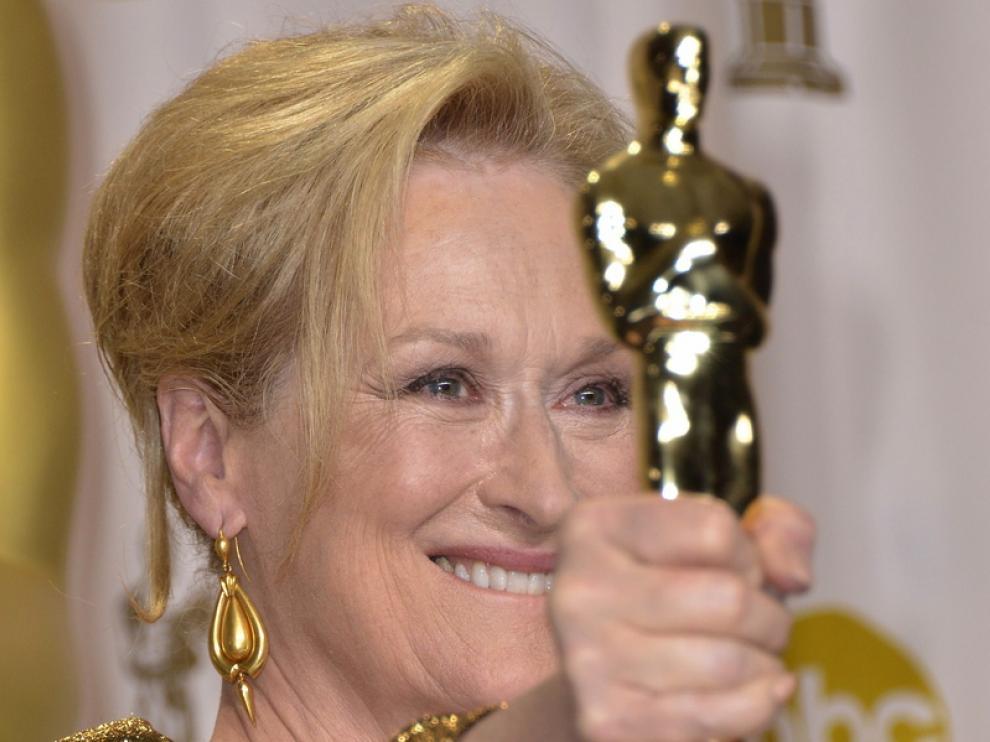 Meryl Streep, una de las ganadoras