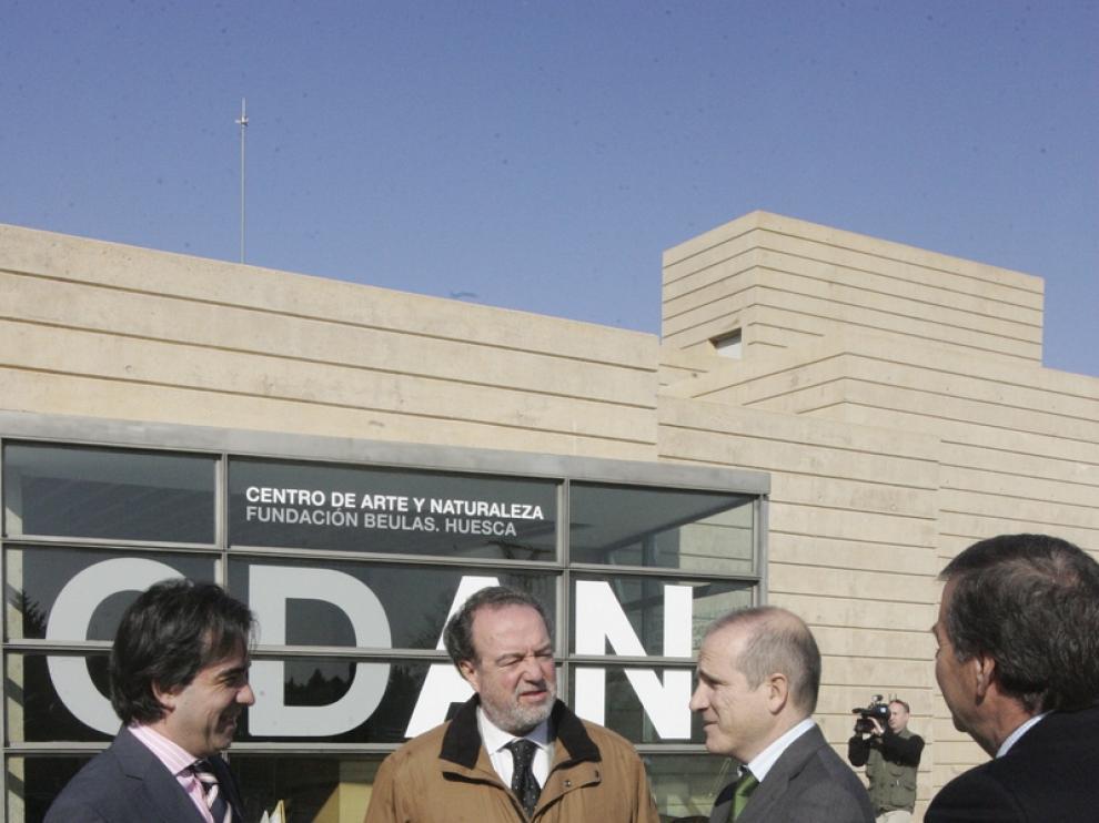 El patronato del CDAN se reune en Huesca.