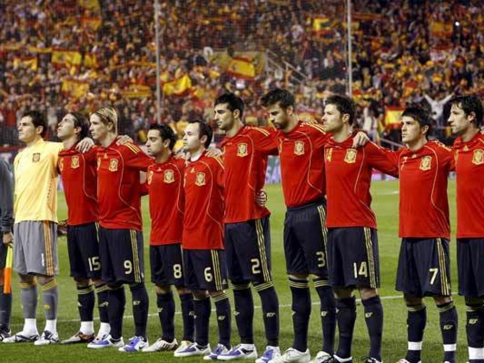 Imagen de la Selección Española que se enfrentará, este miércoles, a Venezuela.